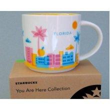 Starbucks You Are Here Mug Collection Florida