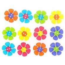 Sew Cute Flowers - Novelty Craft Buttons & Embellishments by Dress It Up