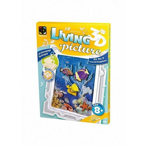 Elf956031 - Fantazer 3d Living Picture - Coral Kingdom