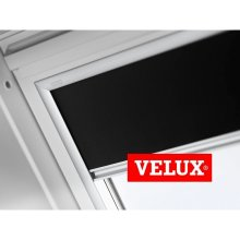VELUX Blackout Blinds Easy Fit Quality Roof Window Roller in Black 3009