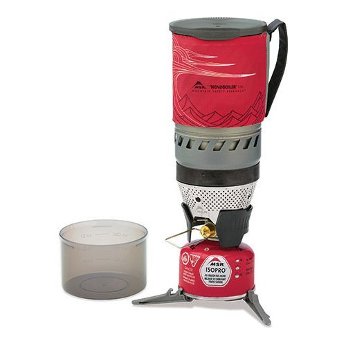 MSR Windburner Stove System 1.0L - Red