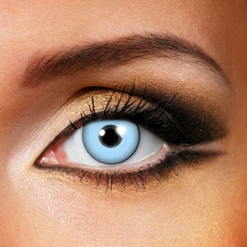 Ice Blue Contact Lenses (Pair) - Halloween Contact Lenses