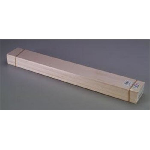Midwest Products MID4304 0.12 x 3 x 24 in. Basswood Strips - 15 Piece