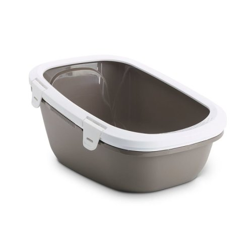 Cat Litter Tray with Sieve Filter Easy Clean Ideal for Large Breeds