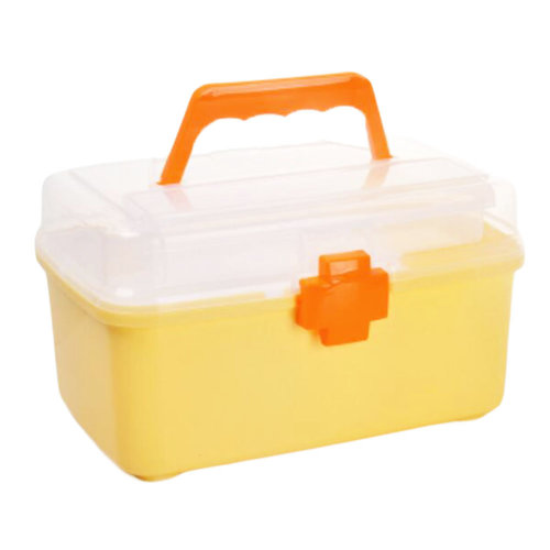 First-Aid Kits/Medicine Storage Case/Pill Box/Container-Yellow