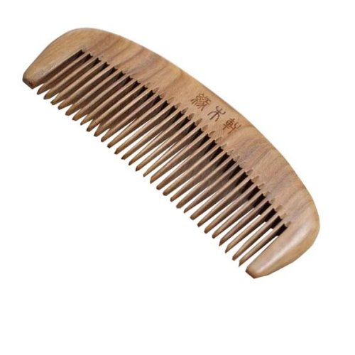 Prevent Hair Loss Anti Static Comb Wood Color