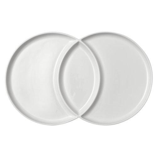 Ladelle Loop White Platter