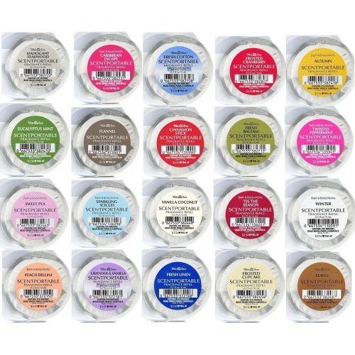 Bath & Body Works Scentportable Refill Fragrance Disc Assorted U Pick!
