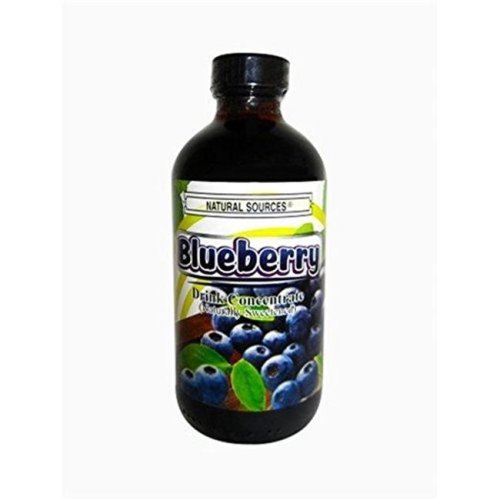 Natural Sources 308083 8 oz Blueberry Juice Concentrate