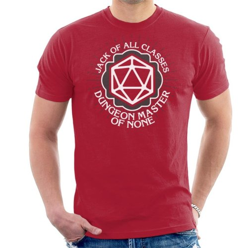 Dungeon Master Of None Men's T-Shirt
