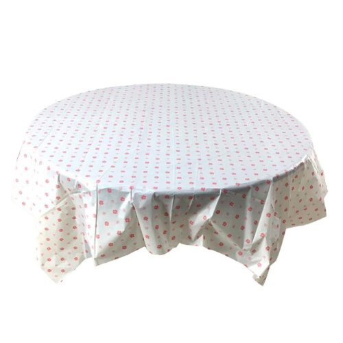 Set of 2 Waterproof Hotel Tablecloth Indoor Outdoor Disposable Tablecloth,C3