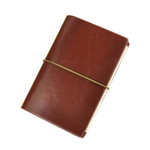 Brown Business Notebook Portable Notebook for Travel