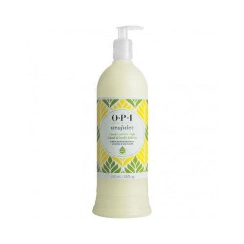 OPI Avojuice Sweet Lemon Sage Hand & Body Lotion - 960ml