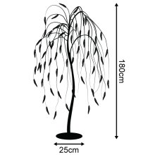 Winter Workshop LED Willow Christmas Tree Indoor & Outdoor Multi Function Lights