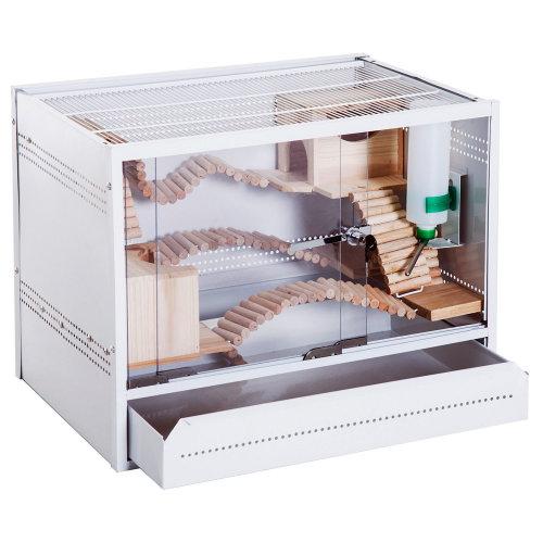 PawHut Acrylic & Steel Terrarium | Reptile House