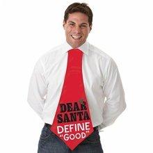 Christmas Jumbo Fabric Tie -