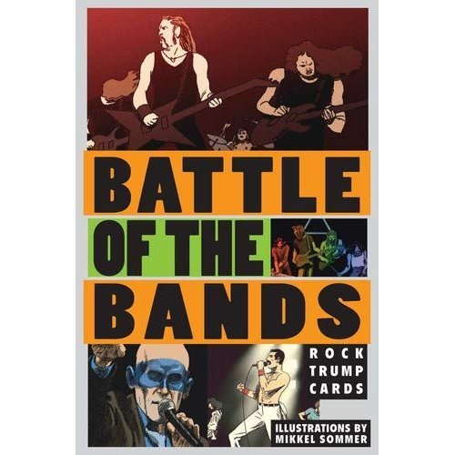 Battle of the Bands: Rock Trump Cards