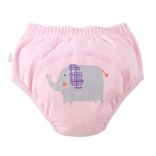 [Elephant] Baby Toilet Training Pants Nappy Underwear Cloth Diaper 13.2-19.8Lbs
