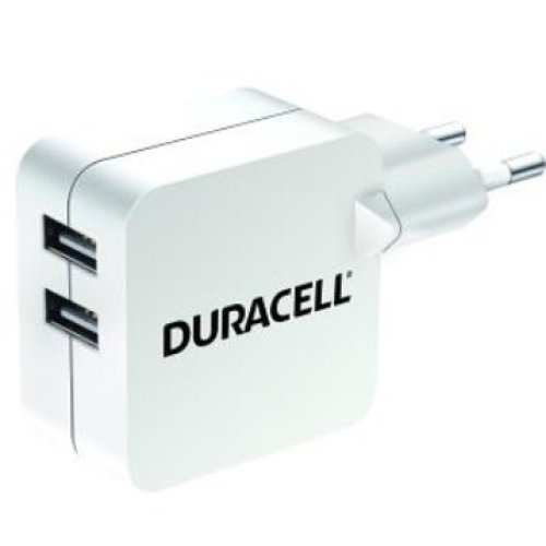 Duracell DRACUSB4W-EU Indoor White mobile device charger