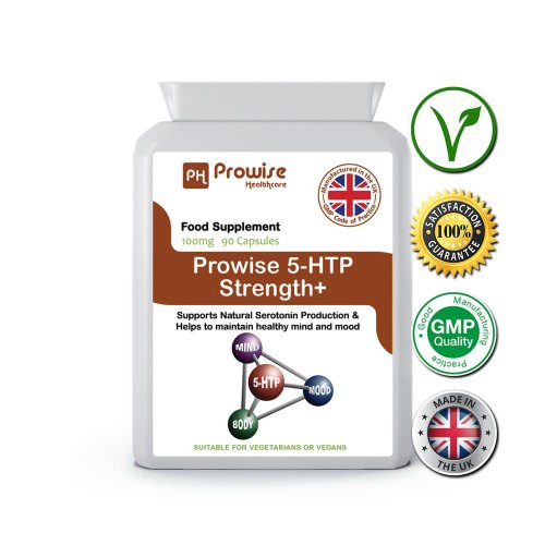 Prowise 5HTP High Strength 90 Capsules 100mg UK Made