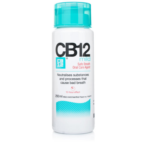 CB12 Mild Mint-Menthol Mouthwash 250ml