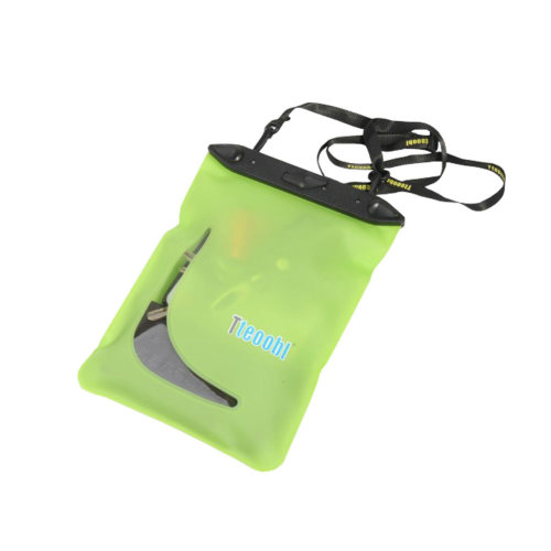 "9.3""*6.9""GREEN Waterproof Underwater Swimming Diving Dry Bag Pouch"