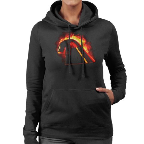 Original Stormtrooper Imperial Navy Helmet Explosion Women's Hooded Sweatshirt