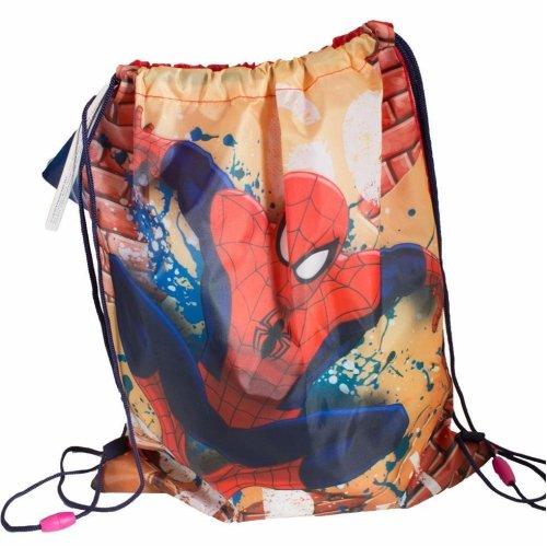 "Disney / Character ""Back to School"" Drawstring PE / Swim Bag - Spiderman"