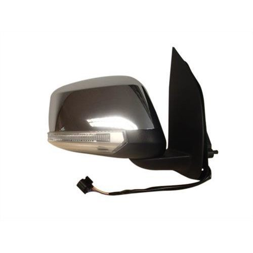 Nissan Navara Pick Up 2010-2015 Door Mirror Electric Heated Type With Chrome Cover (No Kerb Lamp) Driver Side R