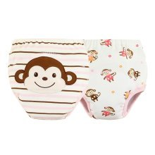 [Girls] Baby Toilet Training Pants Nappy Underwear Cloth Diaper 15.4-26.4Lbs