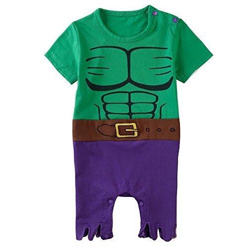 Hulk-inspired Baby Infant Superhero Costume