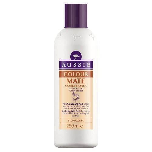 Aussie Conditioner Colour Mate For Coloured Hair With Wild Peach Extract 250ml