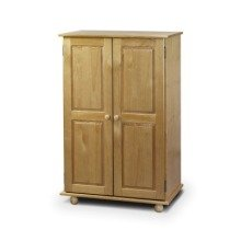 Crenby Pine Short 2 Door Wardrobe