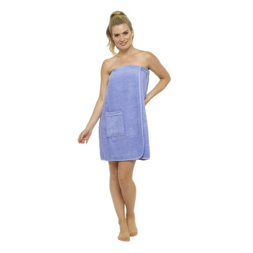 1a8334b738 CityComfort Towel Wrap for Women 100% Cotton Highly Absorbent Terry Soft  Sarong Towel Shower Spa Beach Gym Towelling Robe Cover-Up Dress (S/M, ...