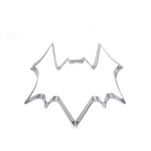 Bat Shape DIY Stainless Steel Baking Mold Cookies Cut