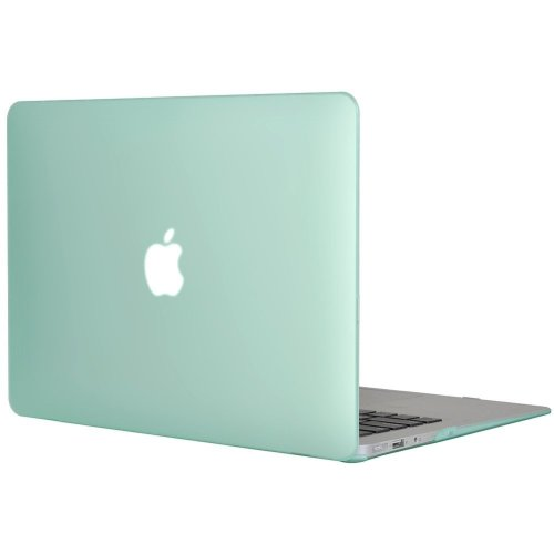 """Topideal Matte Frosted Hard Shell Case Cover 13"""" MacBook Air 13.3"""" -Green"""