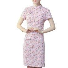 Elegant Chinese Dress Qipao Dresses Cheongsam Women Clothing Skirt XXL-09