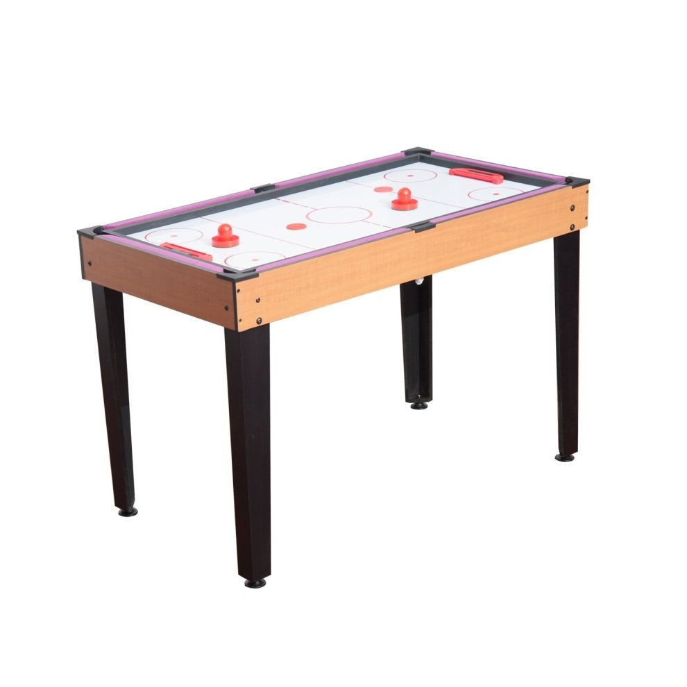 Homcom billiards table tennis ice hockey table 3 in 1 for 10 in one games table