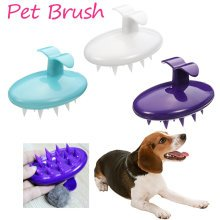 Pet Silicone Shampoo Brush Anti-skid Rubber
