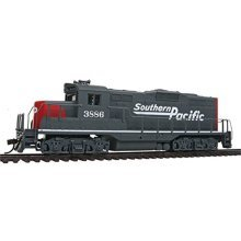 Walthers, Inc. Standard DC Southern Pacific #3886 Train, Gray/Red/White