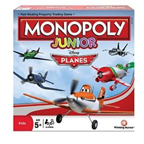 Disney Planes Monopoly Family Board Game Brand New Sealed