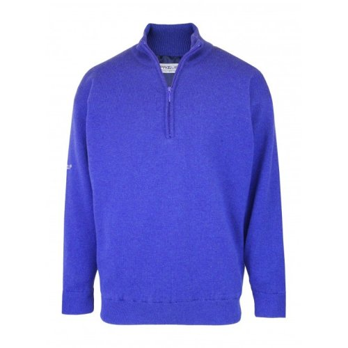 ProQuip Lambswool Water Repellent Jumper Persian Blue Extra Large