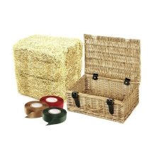 24 Wicker Picnic Basket Gift Packs 42cm Basket
