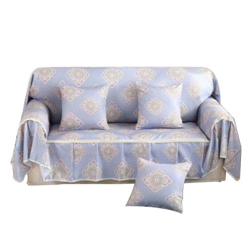 3 Seat Sofa Slipcover Elegant Couch Cover Furniture Protector #33