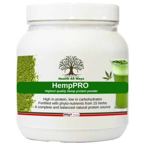 Herbal HempPro Plant Protein Powder Meal Replacement with Superfoods