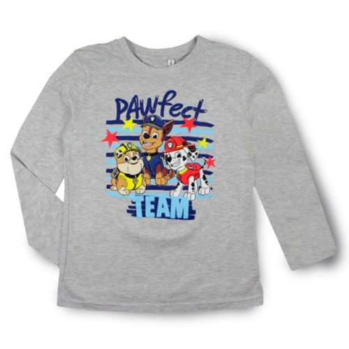 Kids' Clothes, Shoes & Accs. Paw Patrol Boys Long Sleeve Tops 100% Cotton T-shirts Marshall Rubble 2-6 Yrs