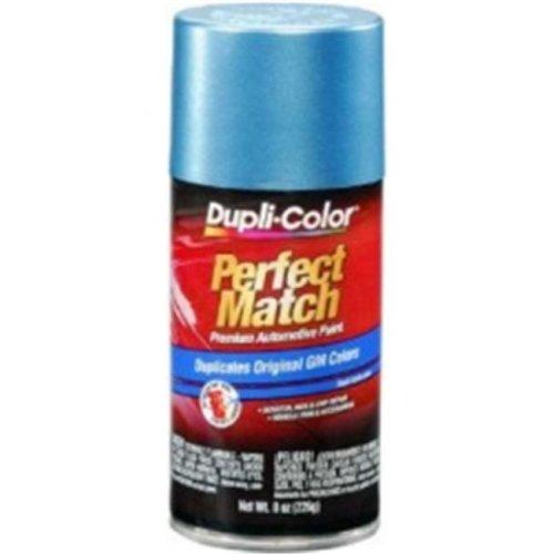 BGM0423 8 oz General Motors Exact-Match Automotive Paint, Med Maui Blue Metallic