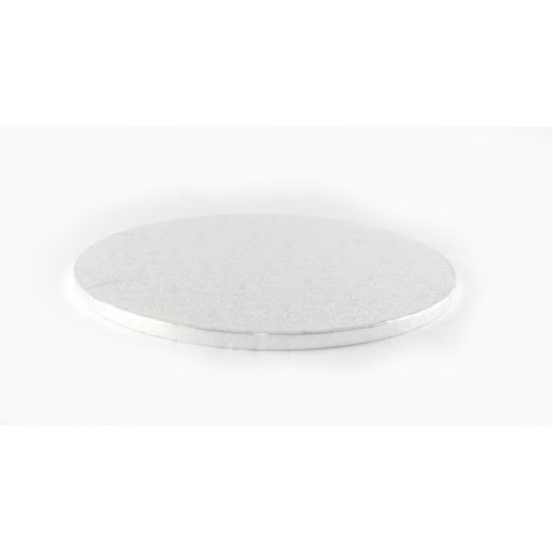 """5"""" Silver Round Cake Drum Board 12mm Thick"""