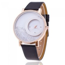 Floating Crystals Dial Watches