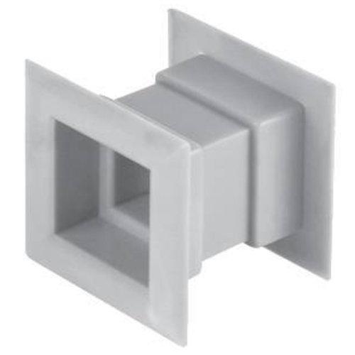 4pcs Mini Square Air Vent Door Grille Internal Ventilation Cover